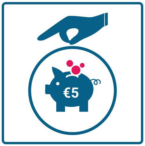 Hacer una donación de 5 euros a la ONG Cebú