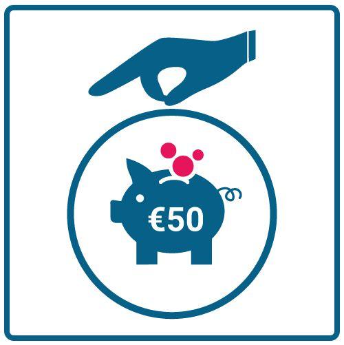 Hacer una donación de 50 euros a la ONG Cebú